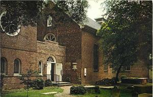 St. Paul's Church Norfolk Virginia VA Chrome Postcard