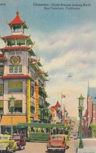 SAN FRANCISCO, California, 1930-40s ; Grant Avenue , Chinatown