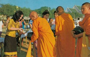 SNAM LUANG, Thailand, 1982 ; New Year's Festival