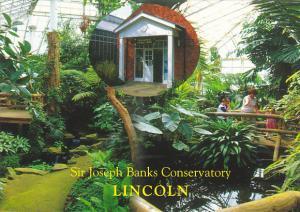 England Lincoln Sir Joseph Banks Conservatory