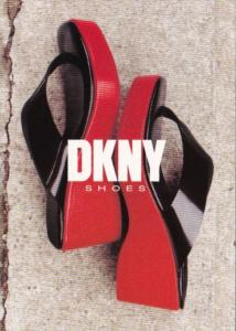 Advertising DKNY Shoes