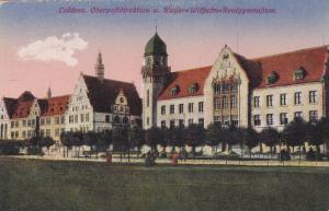 Oberpoftdirektion u. Kaiferz = Wilhelm- Realgymnafium, Coblenz (Rhineland-Pal...
