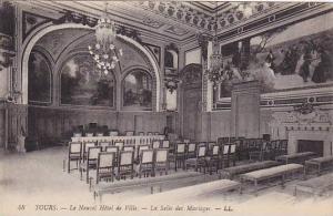 Le Nouvel Hotel De Ville, La Salle Des Mariages, Tours (Indre Et Loire), Fran...