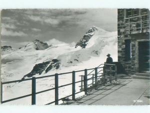 old rppc NICE VIEW Jungfrau By Bern & Valais Switzerland i2352