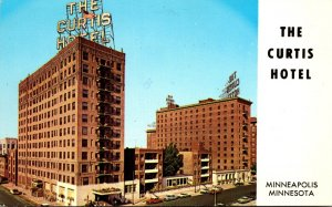 Minnesota Minneapolis The Curtis Hotel 1965