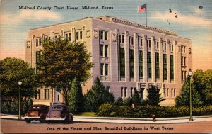 Texas Midland County Court House 1949