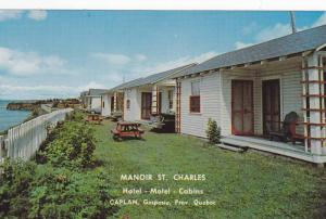 Manoir St. Charles, Caplan, Gaspesie, Quebec, Canada, 1940-1960s