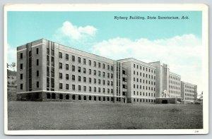 Booneville Arkansas~State Tuberculosis Sanatorium for Whites~Nyberg Bldg~1942 PC