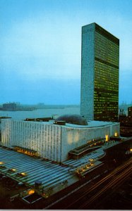New York City United Nations Building