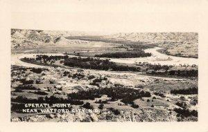 LPS75 Watford City North Dakota Sperati Point Vintage Real Photo Postcard