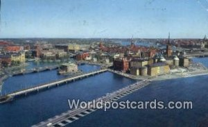 Stockhol, Old Town & Palace Sweden 1967