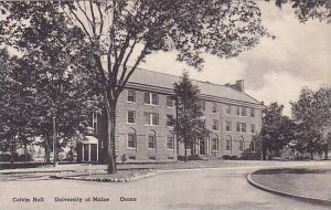 Maine Orono  Colvin Hall University Of Maine Albertype