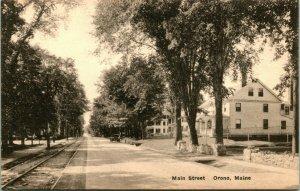 Lot of 11 Vintage University of Maine / Orono, maine Postcards 1930s-50s UNP
