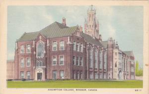 Assumption College, Windsor, Ontario, Canada, 1910-1920s