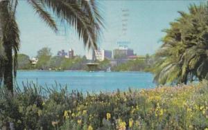 Florida Orlando Angebilt Hotel Across Lake Eola 1951