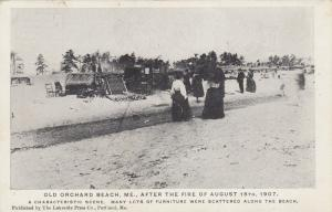 OLD ORCHARD , Maine, 1907 ; Fire ; View #10