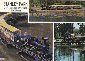 Miniature Scenic Railway Stanley Park Vancouver British Columbia Canada