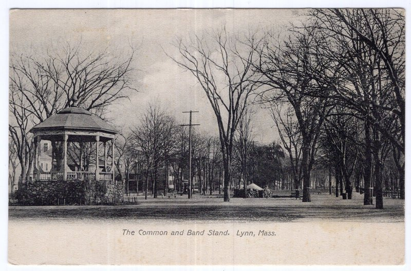 Lynn, Mass, The Common and Band Stand