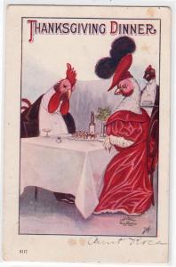 Thanksgiving Dinner - Chickens