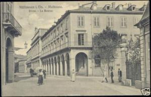 france, MULHAUSE Alsace, Börse, Stock Exchange (1913)