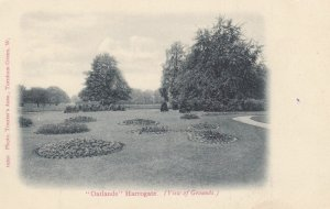 HARROWGATE, England, UK, 1900-10s; Oatlands, view of Grounds