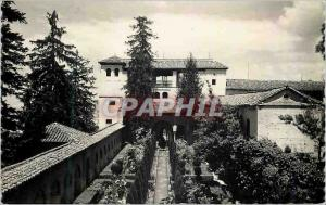 Postcard Modern Granada Alhambra Generelife Jardines Tarjeta Postal Ediciones...
