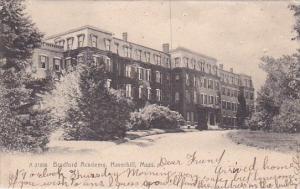 Bradford Academy Haverhill Massachusetts 1907 Rotograph
