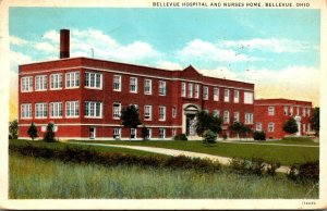 Ohio Bellevue Hospital and Nurses Home 1940 Curteich