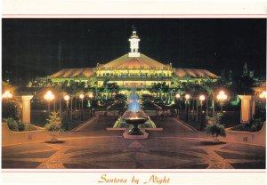 Sentosa At Night Singapore Postcard
