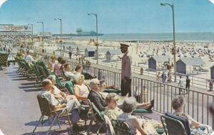 Malborough-Blenheim, Beach Shore, Boardwalk, ATLANTIC CITY, New Jersey, 40-60's