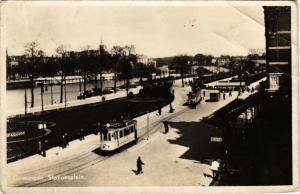 CPA GRONINGEN Stationsplein NETHERLANDS (604292)