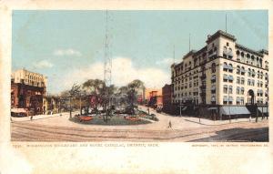 Detroit Michigan~Hotel Cadillac~Washington Blvd~Detroit Pub Co #7532~1904 PC