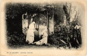 CPA Vollenweider 30 Alger Jardin Arabe ALGERIE (823896)