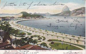 Rio de Janeiro , Praia de Botafogo e Pao do Assucar , Brazil , PU-1914