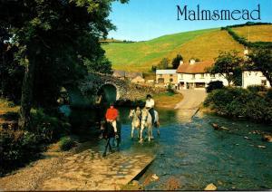 England Exmoor Malmsmead Lorna Doone Farm