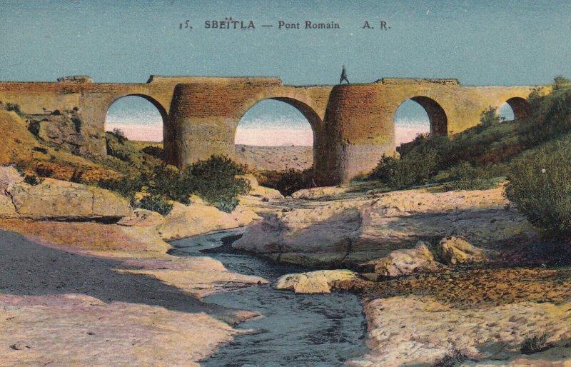 SBEITLA, Tunisia, 1900-1910s; Pont Romain