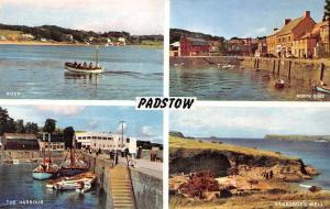 Padstow, The Harbour St George's Well North Quay Boats Port
