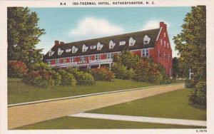 North Carolina Rutherfordton Iso Thermal Hotel