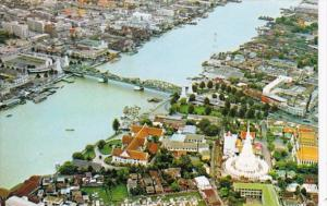 Thailand Bangkok Aeroplane View