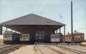 CA Railway Museum Rio Vista Junction, CA, USA 1975