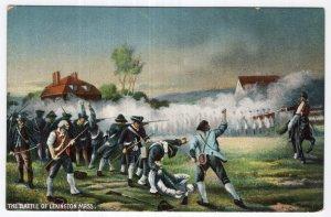 The Battle Of Lexington, Mass