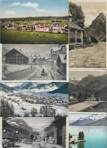 Switzerland Postcard Lot of 20 With Better Ones! 01.11