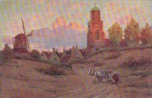 Windmill Scene 1906
