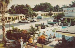 MIAMI , Florida , 50-60s ; Motel Viking, Swimming Pool