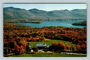 Chittenden VT- Vermont, Mountain Top Inn, Cottages and Club, Chrome Postcard