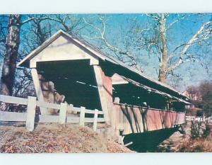 Pre-1980 COVERED BRIDGE Basil - Baltimore Ohio Ohio OH ho5223