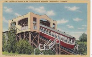 Tennessee Chattanooga Incline Station At The Top Of Lookout Mountain Curteich