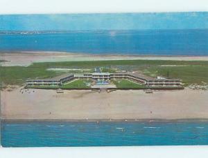 Pre-1980 MOTEL SCENE South Padre Island By Brownsville & Corpus Christi TX G7052