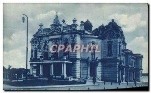 Old Postcard Velka Ostrava Narodni Divadio March Slezské