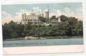 Casco Castle from the Sea, Freeport, Maine 00-10